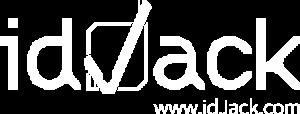idJack Logo 1C white